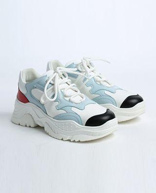 牛皮革休闲运动鞋