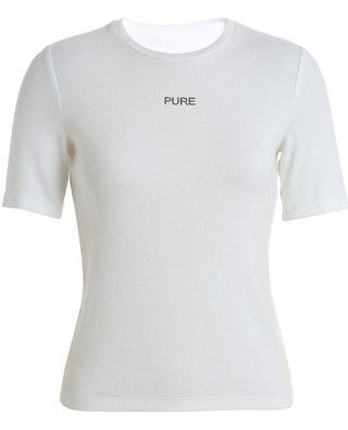 字母燙鉆短袖t恤