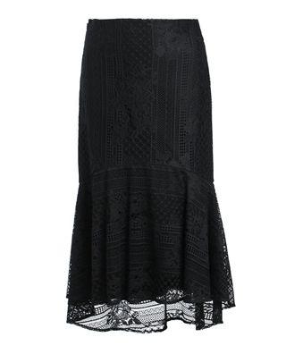 蕾丝鱼尾裙包臀裙