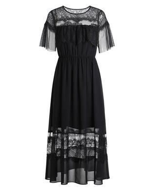 蕾丝花边连衣裙