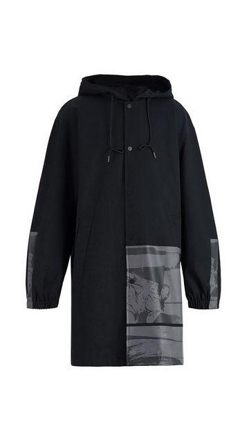 【一口价】棉质连帽风衣开衫外套