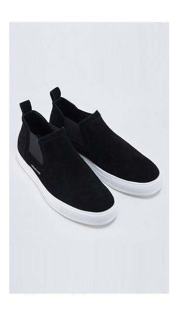 时尚休闲字母懒人鞋