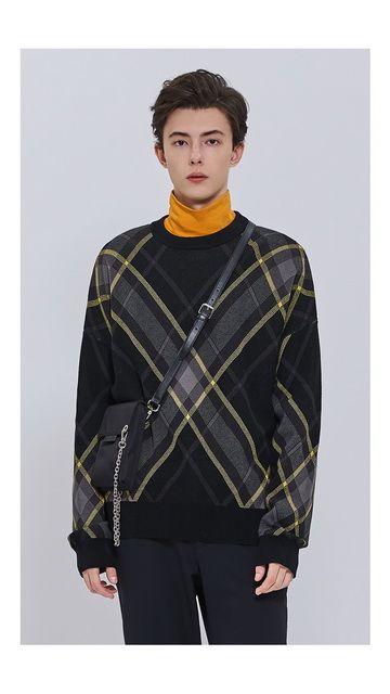 【低至2折】条纹纯棉套头长袖毛衣