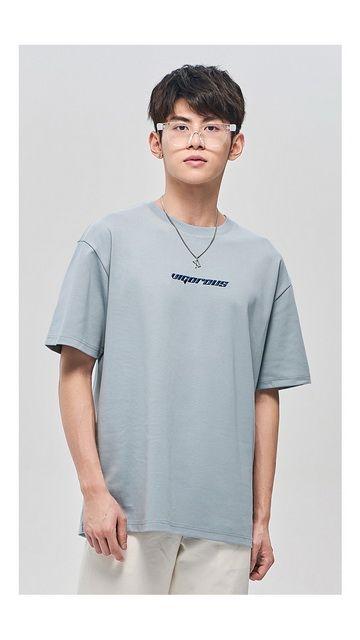 【2件9折 3件8折】人物印花棉质短袖T恤男