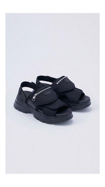 【精选货品】休闲鞋增高拉链拖鞋男