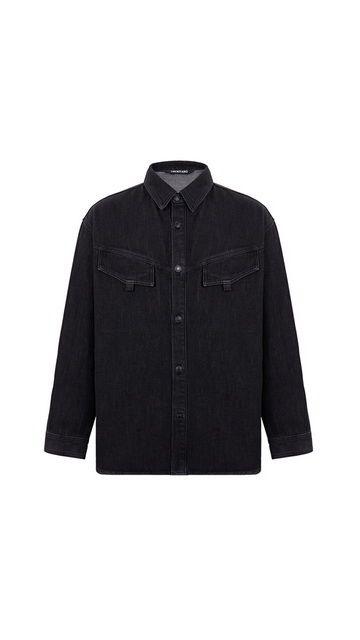 【精选货品】衬衣刺绣长袖牛仔衬衫