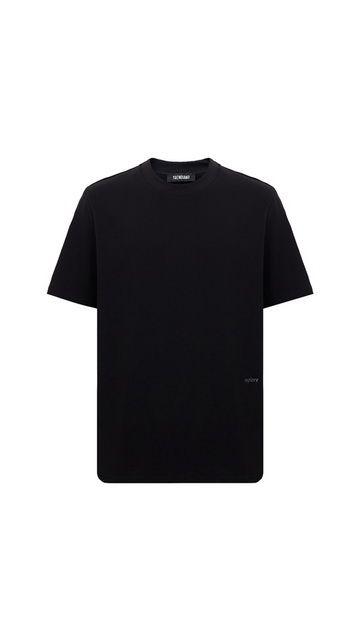 【精选货品】宽松上衣刺绣圆领T恤