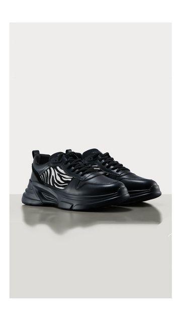 【精选货品】条纹系带皮鞋老爹鞋