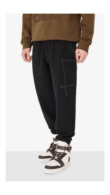【精选货品】抽绳弹力休闲裤工装裤