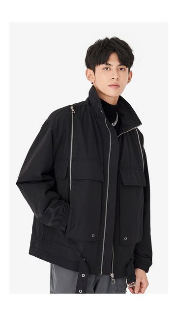 【精选货品】立领棉衣工装棉服外套
