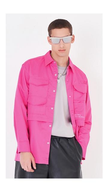 【精选货品】衬衫工装宽松棉质衬衣