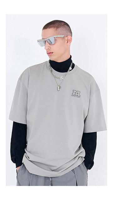 【VIP精选货品】宽松印花短袖棉T恤男