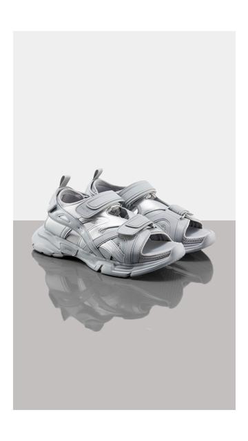 【精选货品】鞋子厚底魔术贴凉鞋男