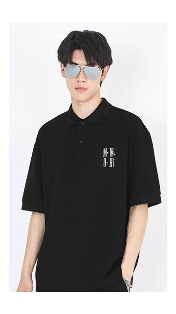 【精选货品】棉短袖t恤休闲Polo衫男