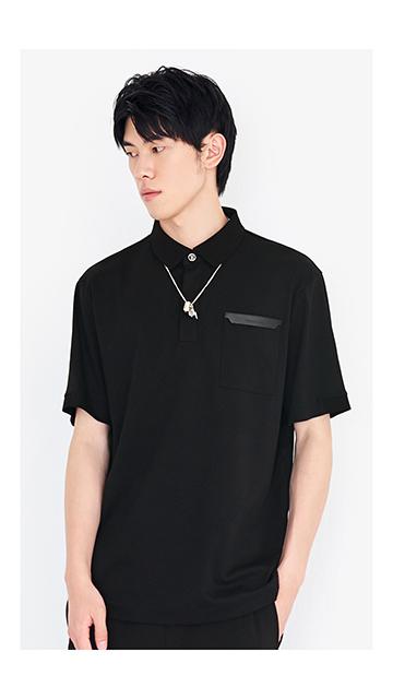 【精选货品】短袖t恤棉质Polo衫男