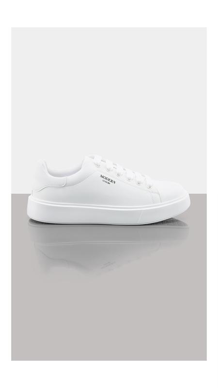 圆头系带小白鞋休闲鞋