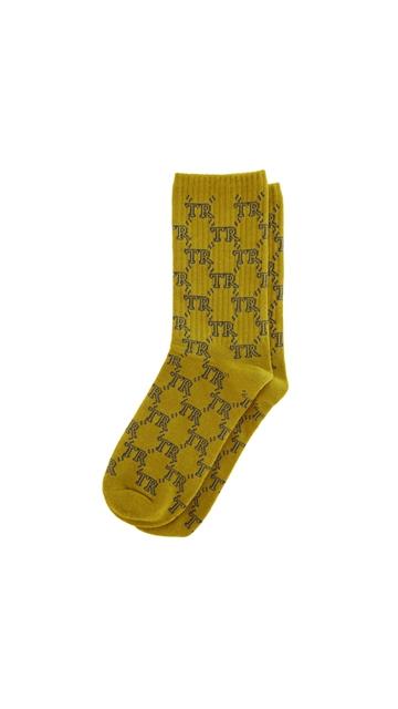 经典老花提花时尚长袜