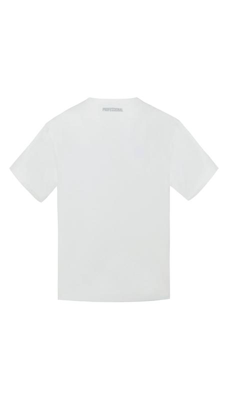 笑脸印花纯棉短袖T恤男