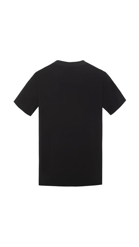 立体刺绣字母短袖T恤男