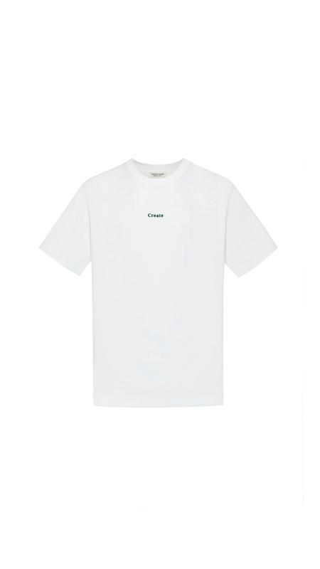 城市印象植绒短袖T恤男