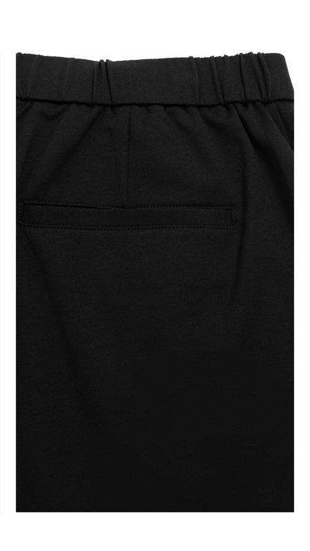立体压花拉链休闲短裤